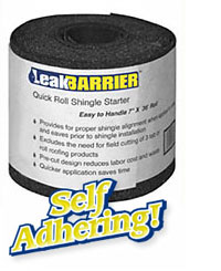 Self Adhering Quick Roll Shingle Starter